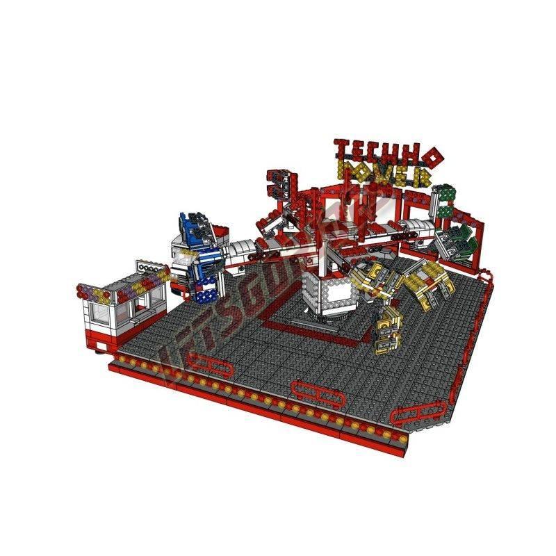 LetsGoRides - TechnoPower (Instructions de montage), Instructions de Montage, Ces instructions de montage permettent d'assembler