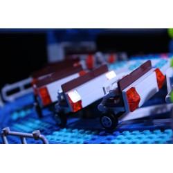 Lego amusement ride Himalaya