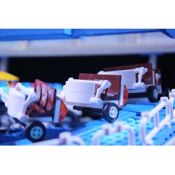 Lego amusement ride Himalaya