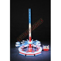 Lego amusement ride Vertical Swing