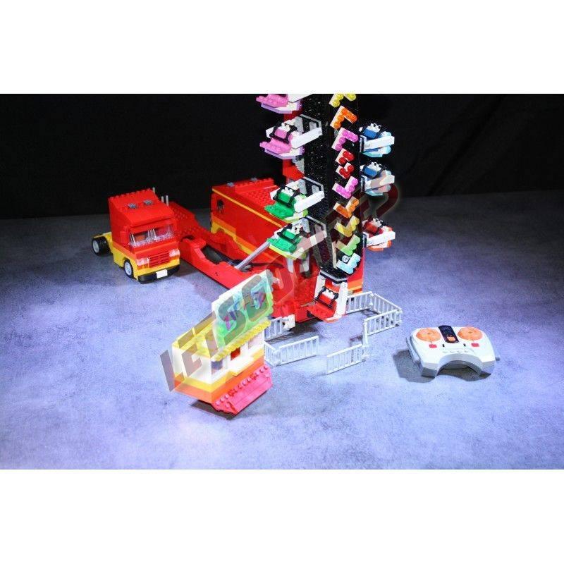 Lego amusement ride Zipper