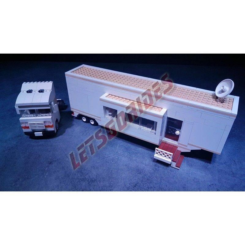 Carrusel en Lego Caravan