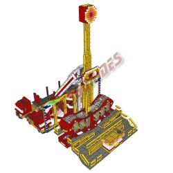 LetsGoRides - Ranger (Building Instructions), These building instructions allow you to assemble a motorized reproduction of the