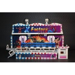 Lego amusement ride X-Factory