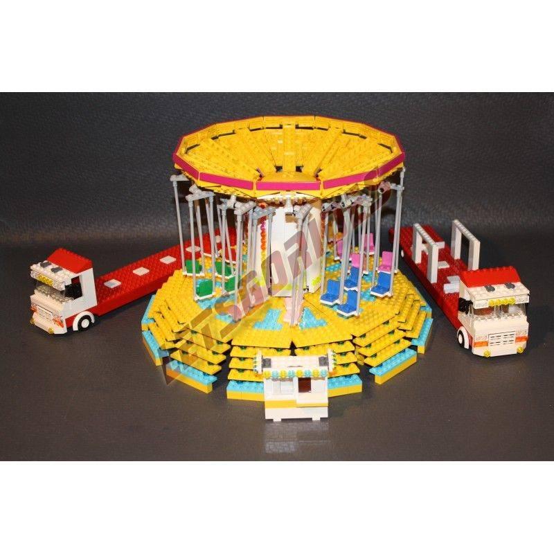 Manège en Lego Wave Swinger