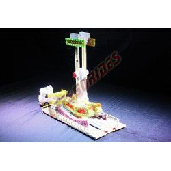 Lego amusement ride Kamikaze
