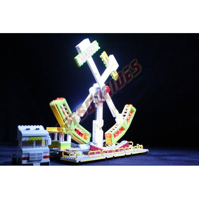 Lego amusement ride Kamikaze
