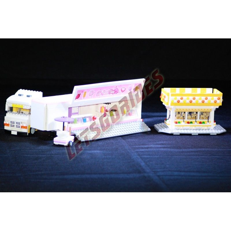 Manège en Lego Stand de Confiseries