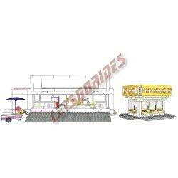 Snoepwinkel (Bouwinstructies)