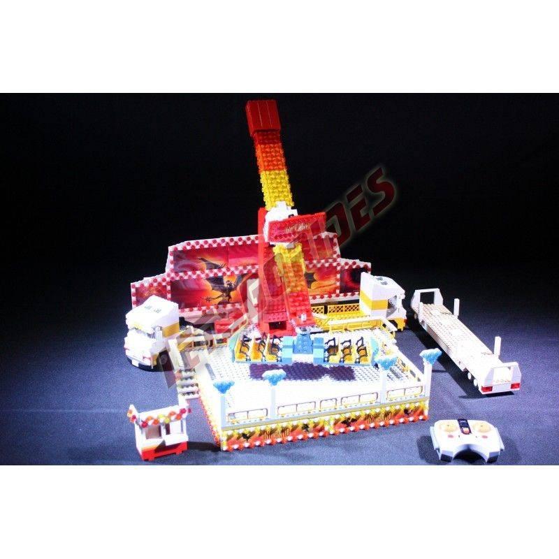 Lego amusement ride Inferno