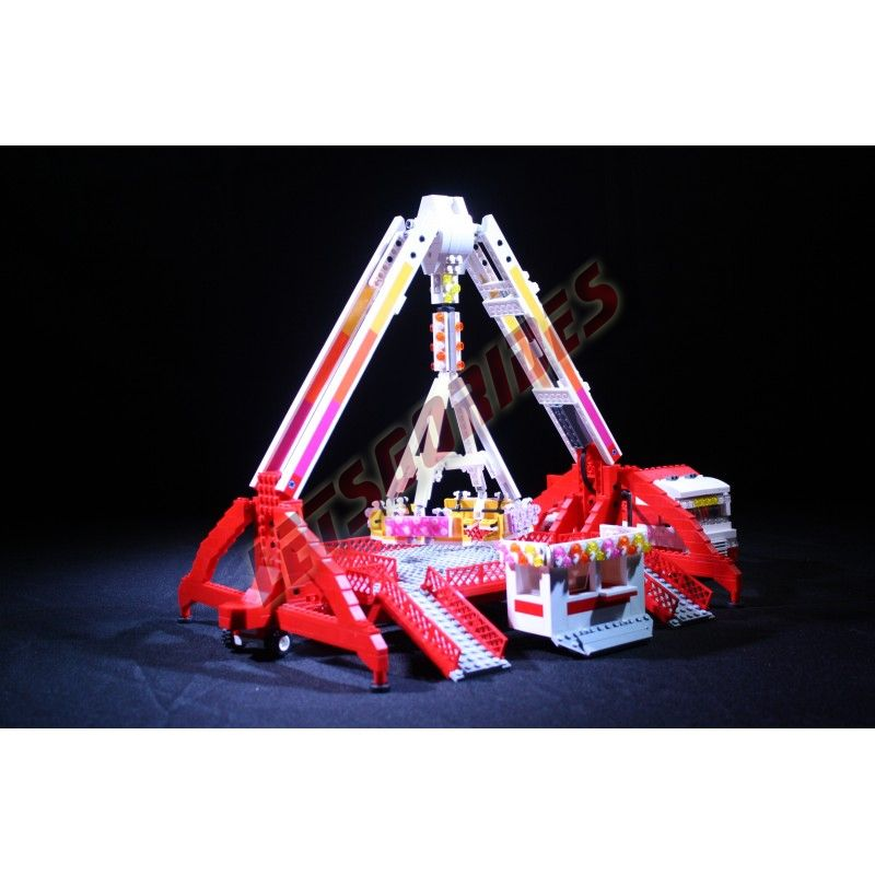 Lego amusement ride FreakOut