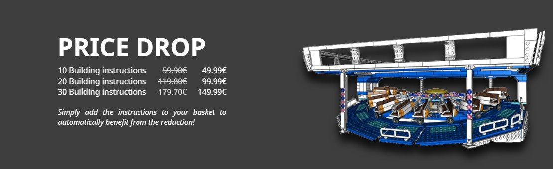 Add 10, 20 or 30 assembly instructions to your cart and save money!